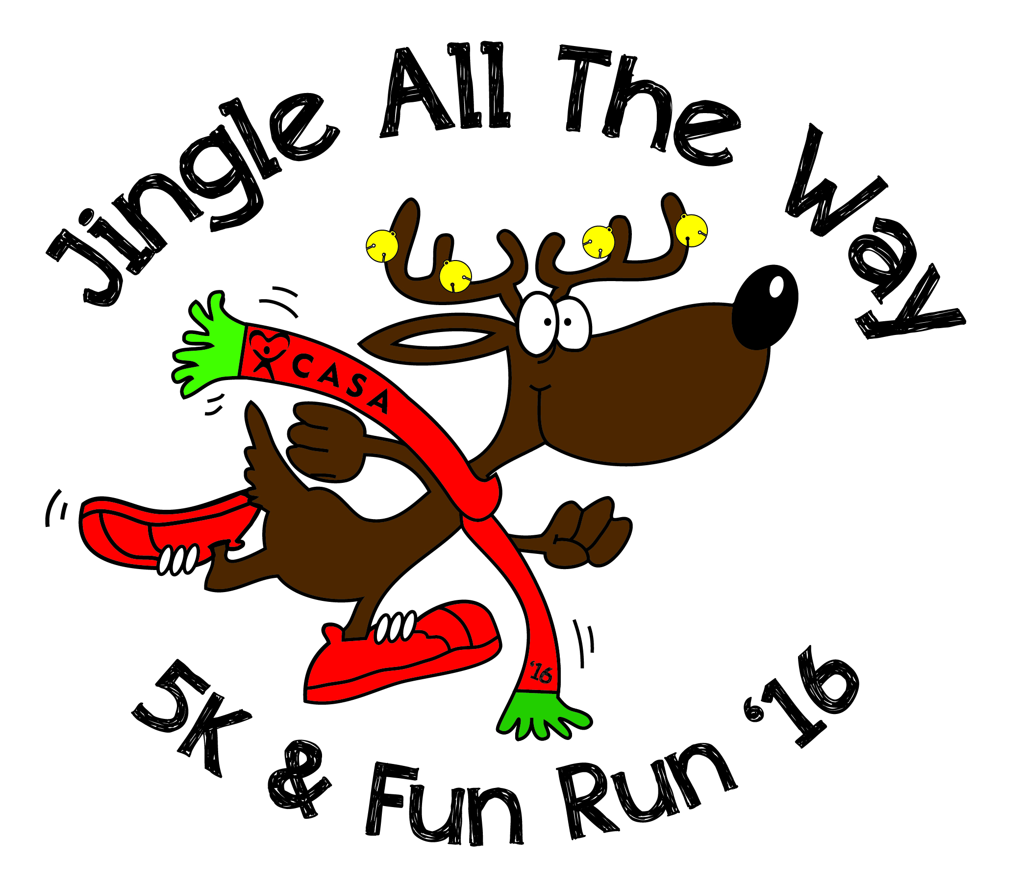 Jingle All The Way - 5K & Fun Run